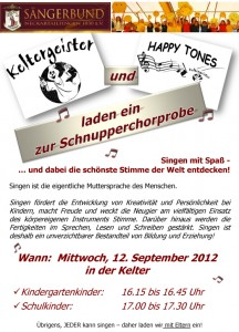 FLyer_Schnupperchorprobe
