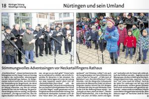 Bericht von Jürgen Gerrmann vom 09. Dezember 2014