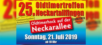 25. Oldtimertreffen Neckartailfingen
